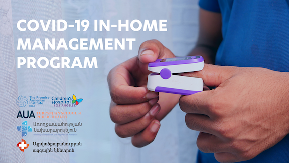 COVID-19 In-Home Management Program Now Underway in Armenia
