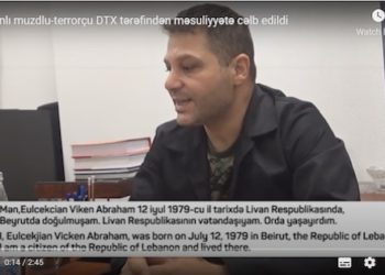 Azerbaijan Labels Armenian POW Vicken Euljekjian a 'Terrorist'