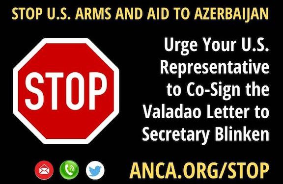 ANCA Welcomes Rep. Valadao-Led Effort to Stop U.S. Arms and Aid to Azerbaijan