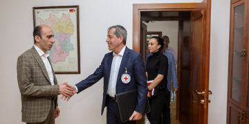 ICRC Discusses Humanitarian Programs in Artsakh