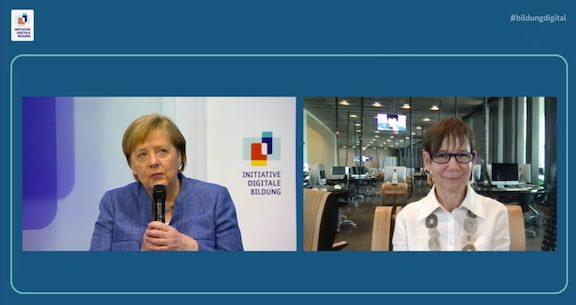 Angela Merkel Takes Virtual Tour of TUMO Berlin