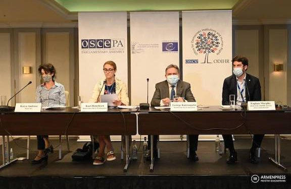 Decrying 'Inflammatory Rhetoric,' Observers Say Armenia Elections 'Well-Run'