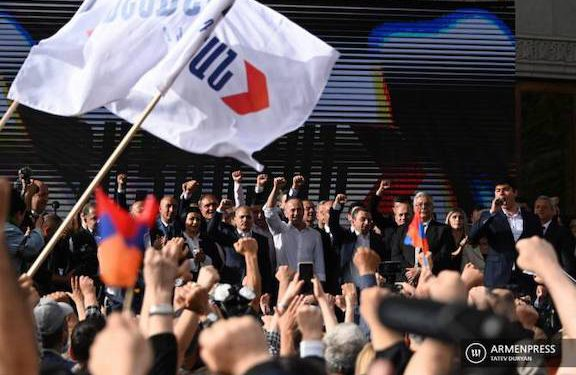 Armenia Alliance Says will Challenge Election Results