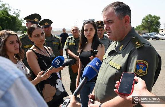 Russian Troops to be Deployed in Gegharkunik, Says Army Chief of Staff