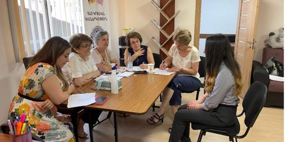AEF Conducts Scholarship Interviews in Armenia
