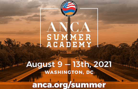 ANCA Summer Academy to Jumpstart High School Engagement in the Armenian Cause
