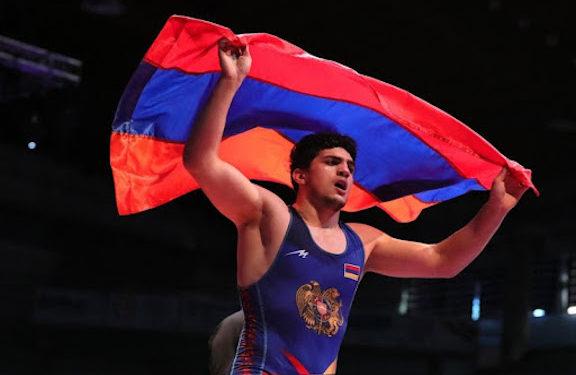 Wrestler Lyova Gevorgyan Defeats Azeri Opponent to Capture Gold Medal