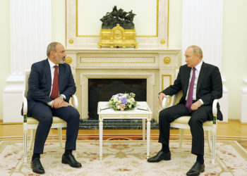 Putin and Pashinyan Meet in Moscow