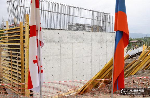 Construction Begins on Bridge Linking Georgia and Armenia
