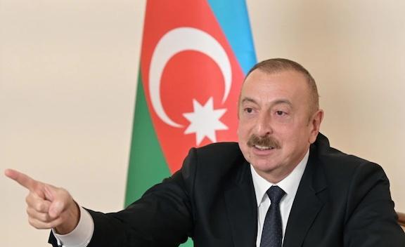 Aliyev Warns Armenia 'Not to Make Another Mistake'