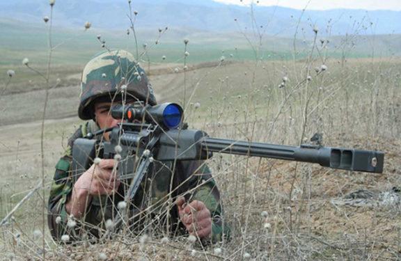 Azeri Forces Fire Shots at Stepanakert