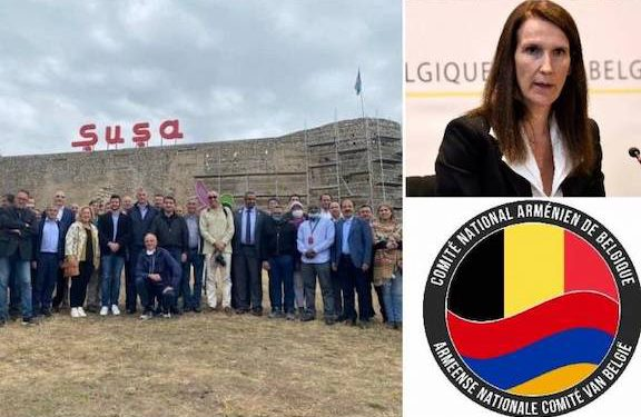 ANC of Belgium Condemns Ambassador's Visit to Shushi