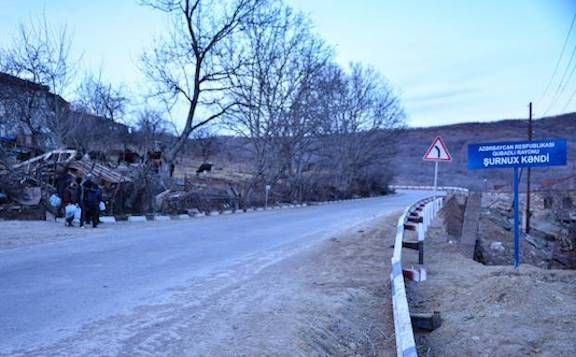 Tensions Escalate as Azerbaijani Military Blocks Roads in Goris