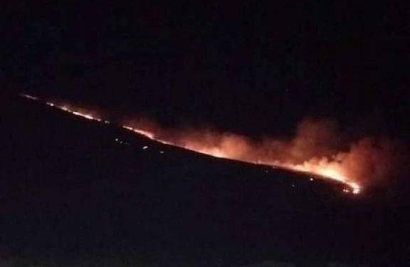 Azeri Forces Deliberately Set Fires Near Armenian Villages