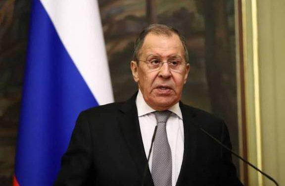 Lavrov Again Presses Border Opening