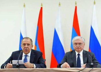 Lavrov Presses for Armenia-Turkey Ties; Recalls Zurich Protocols