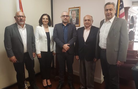 ARF Delegation Meets with Lebanese Consul General