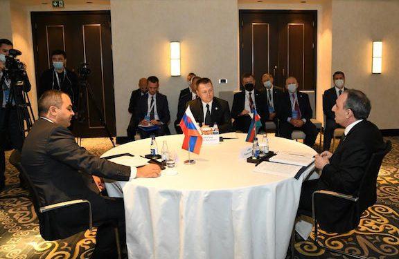 Prosecutors General of Armenia, Russia, Azerbaijan Meet