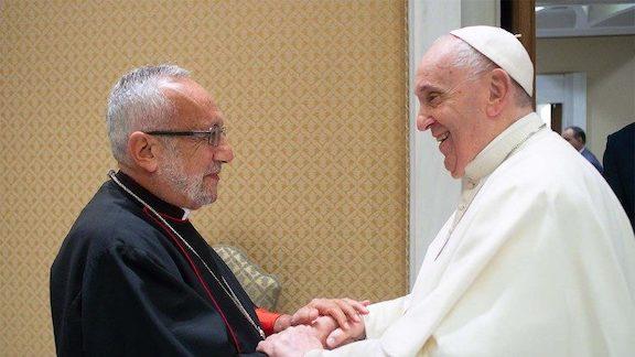 Pope Meets New Armenian Catholic Patriarch