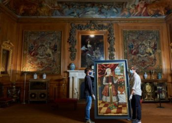 17th-Century Armenian Paintings Return to Windsor Castle after 150 years