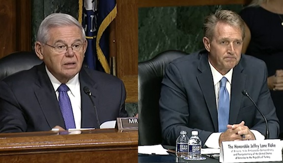 Menendez Questions U.S. Ambassador to Turkey Nominee over Opposition to Armenian Genocide Resolutions