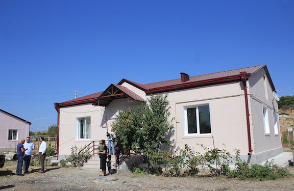 Tufenkian and AMAA Partner to Renovate Homes of Wounded Artsakh Veterans