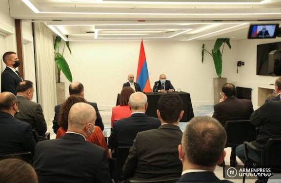 Pashinyan Says Ready to Meet with Aliyev
