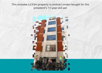Aliyev's 11-Year-Old Son Owned $45 Million Property in Central London