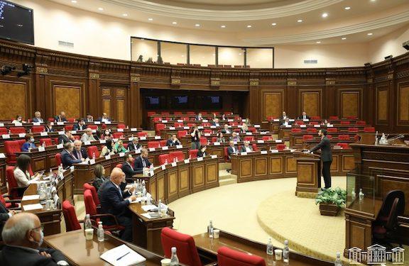Opposition Demands Parliament Debate On Azerbaijani Road Blockade