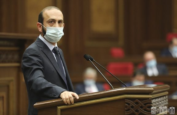 Mirzoyan Hints at Another Meeting With Azerbaijan's Foreign Minister