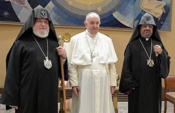 Karekin II Raises POW Issue with Pope