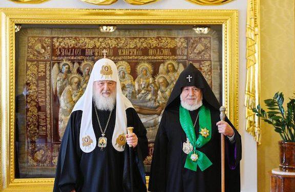 Armenian, Russian Religious Leaders Discuss Artsakh