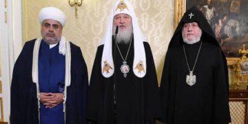 Religious Leaders of Armenia, Russia and Azerbaijan Discuss Karabakh