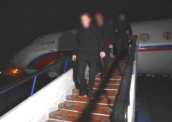 Five POWs, Sentenced in Baku, Return from Captivity
